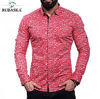 Стильная мужская рубашка с оригинальным рисунком