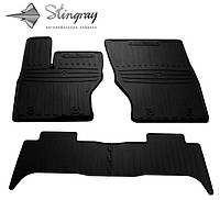 Резиновые коврики Stingray для Land Rover Range Rover Sport II  2013    - комплект 4 передних коврика.