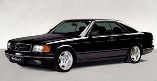 Mercedes W126 CL / Мерседес 126 (Купе) (1981-1992)