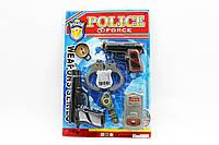 Полицейский набор - 2 пистолета, рация, наручники, часы