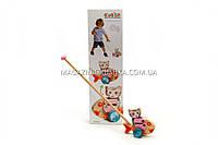 Детская деревянная рыбка-каталка Cubika(Кубика). Деревянные эко игрушки, помогут проявить фантазию ребенка