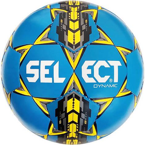 Футбольный мяч Select Dynamic сине-желтый размер 5