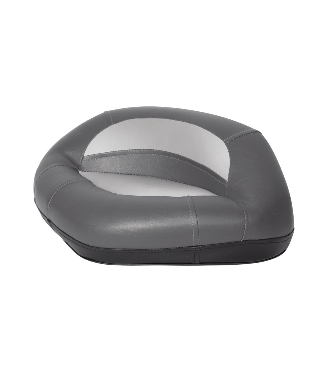 Сиденье трехугольное лодочное на стойку Pro серо/угольное