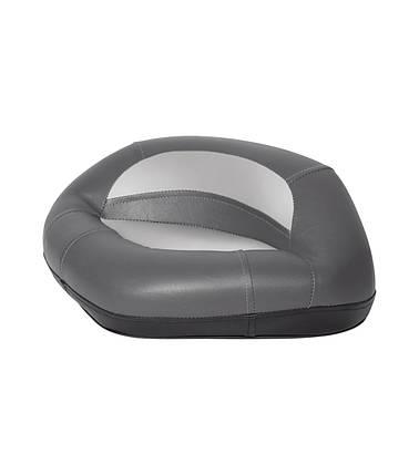 Сидіння трехугольное лодочное на стійку Pro сіро/вугільне, фото 2