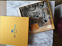 Платок из шелка Etro Италия фирменный, шарф