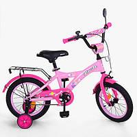 Детский двухколесный велосипед PROFI 14 дюймов, T1461 Original girl