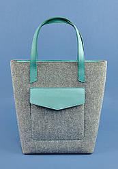 Дизайнерская сумка шопер Тиффани