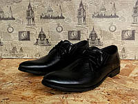 Туфли мужские Slat 17-104 с натуральной кожи, фото 1