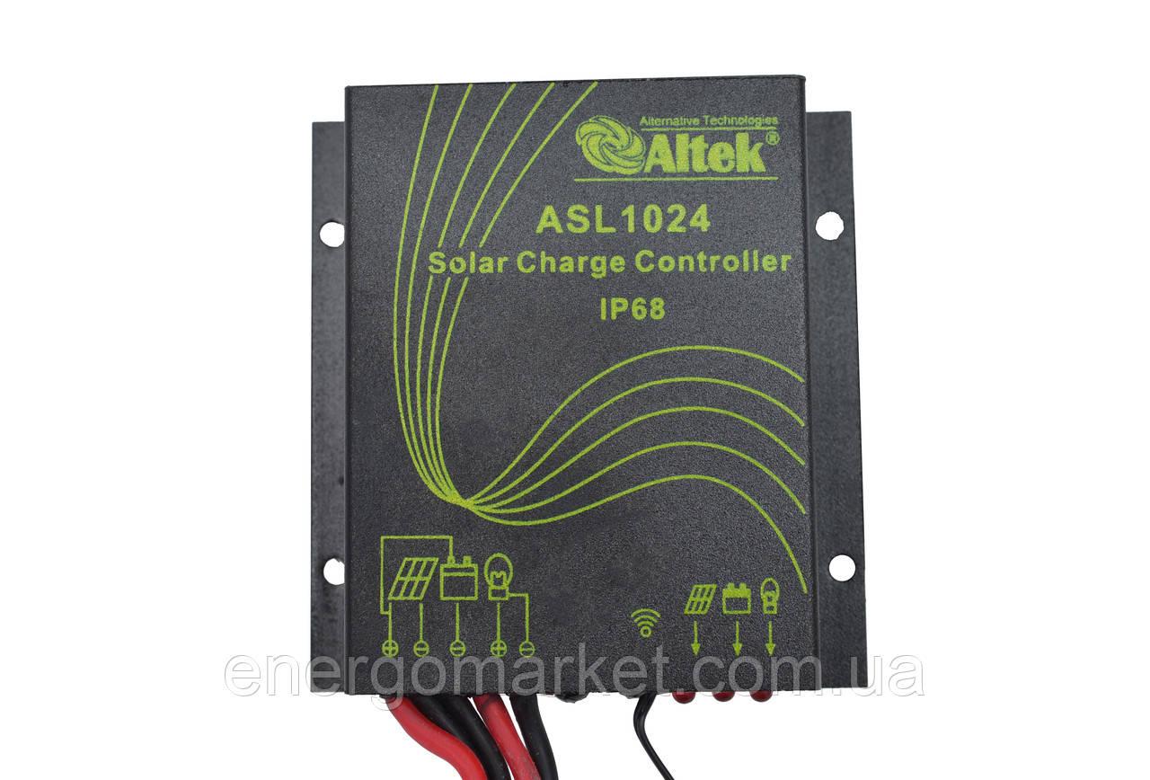 Контроллер заряда Altek ASL1024 (10А) для систем автоматического освещения