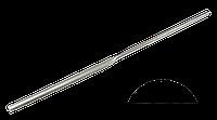 Надфиль алмазный полукруглый 80 мм