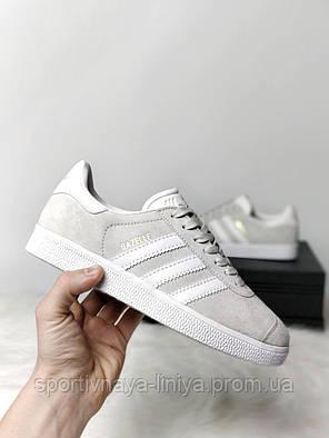 Женские кроссовки Adidas Gazelle  Реплика, фото 2
