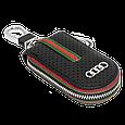 Ключница Carss с логотипом AUDI 01007 черная, фото 5