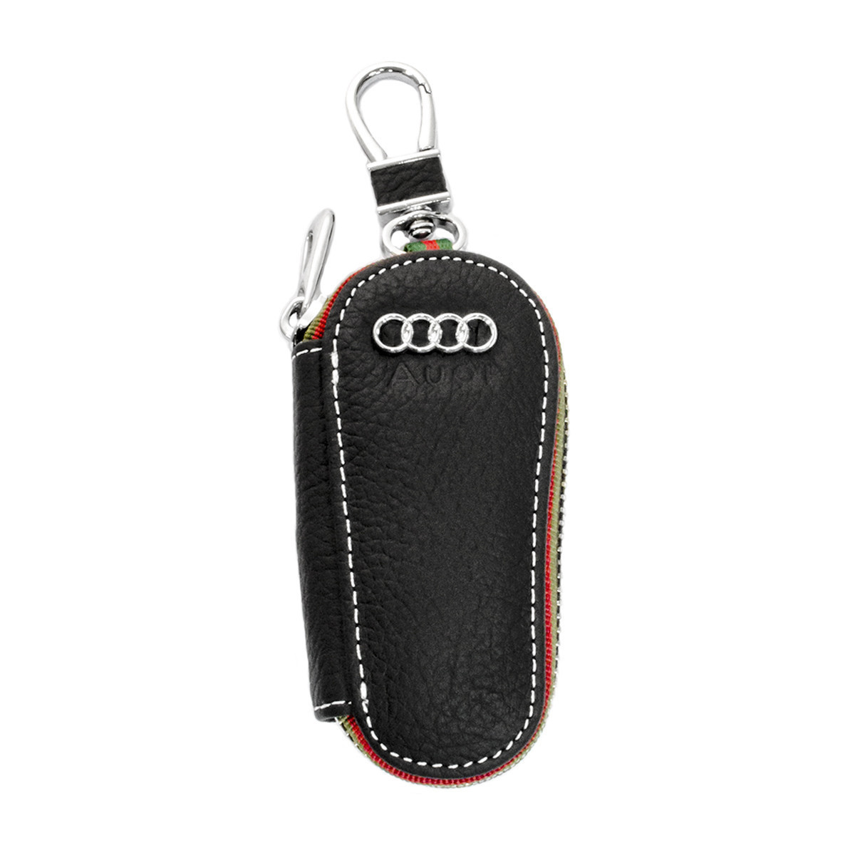 Ключница Carss с логотипом AUDI 01005 черная