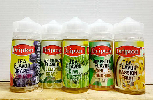 Жидкость для электронных сигарет Dripton 200ml Оригинал