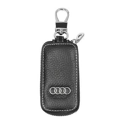 Ключница Carss с логотипом AUDI 01010 черная
