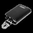 Ключница Carss с логотипом AUDI 01002 черная, фото 4