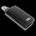 Ключница Carss с логотипом AUDI 01002 черная, фото 5