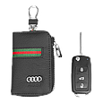 Ключница Carss с логотипом AUDI 01012 многофункциональная черная, фото 3