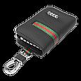 Ключница Carss с логотипом AUDI 01012 многофункциональная черная, фото 4