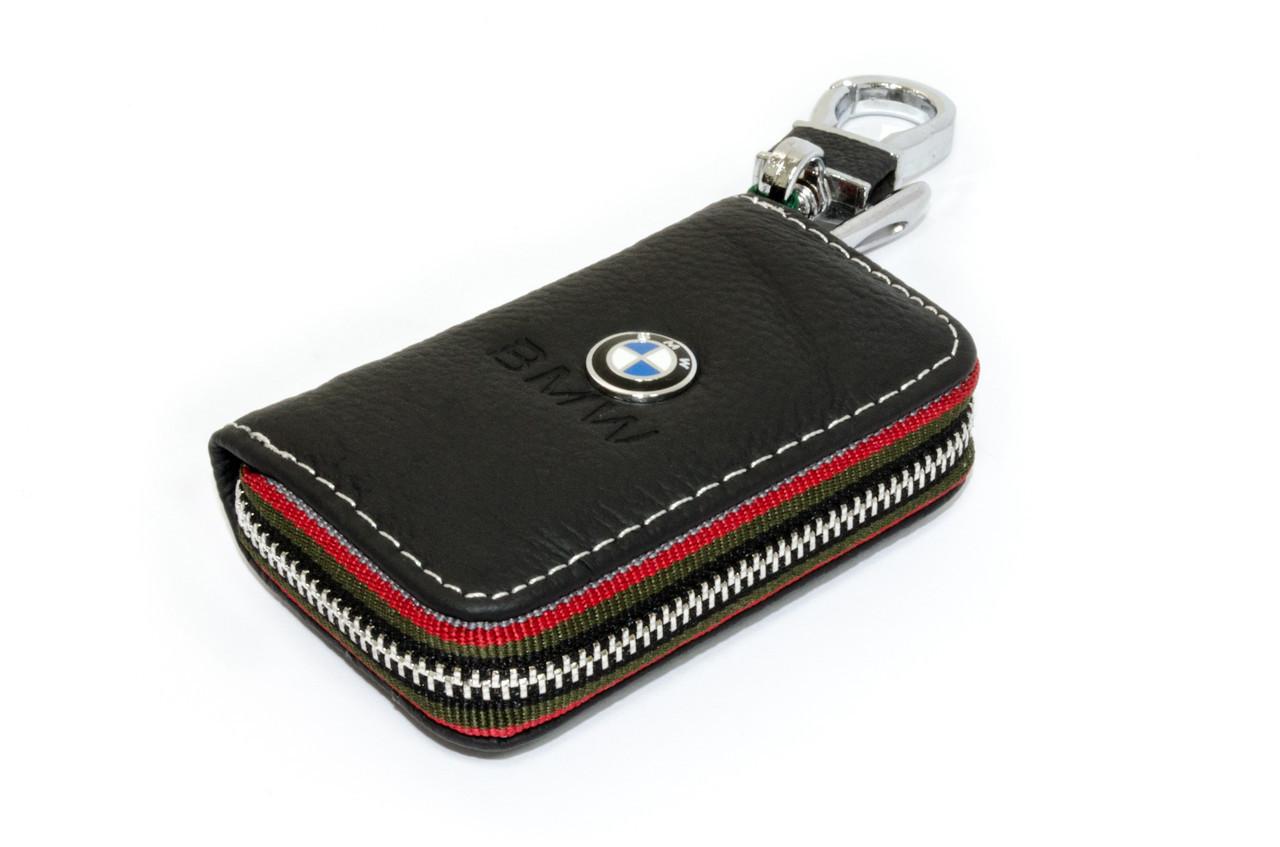 Ключница Carss с логотипом BMW 12006 черная