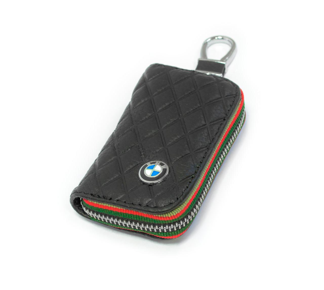 Ключница Carss с логотипом BMW 12009 черная