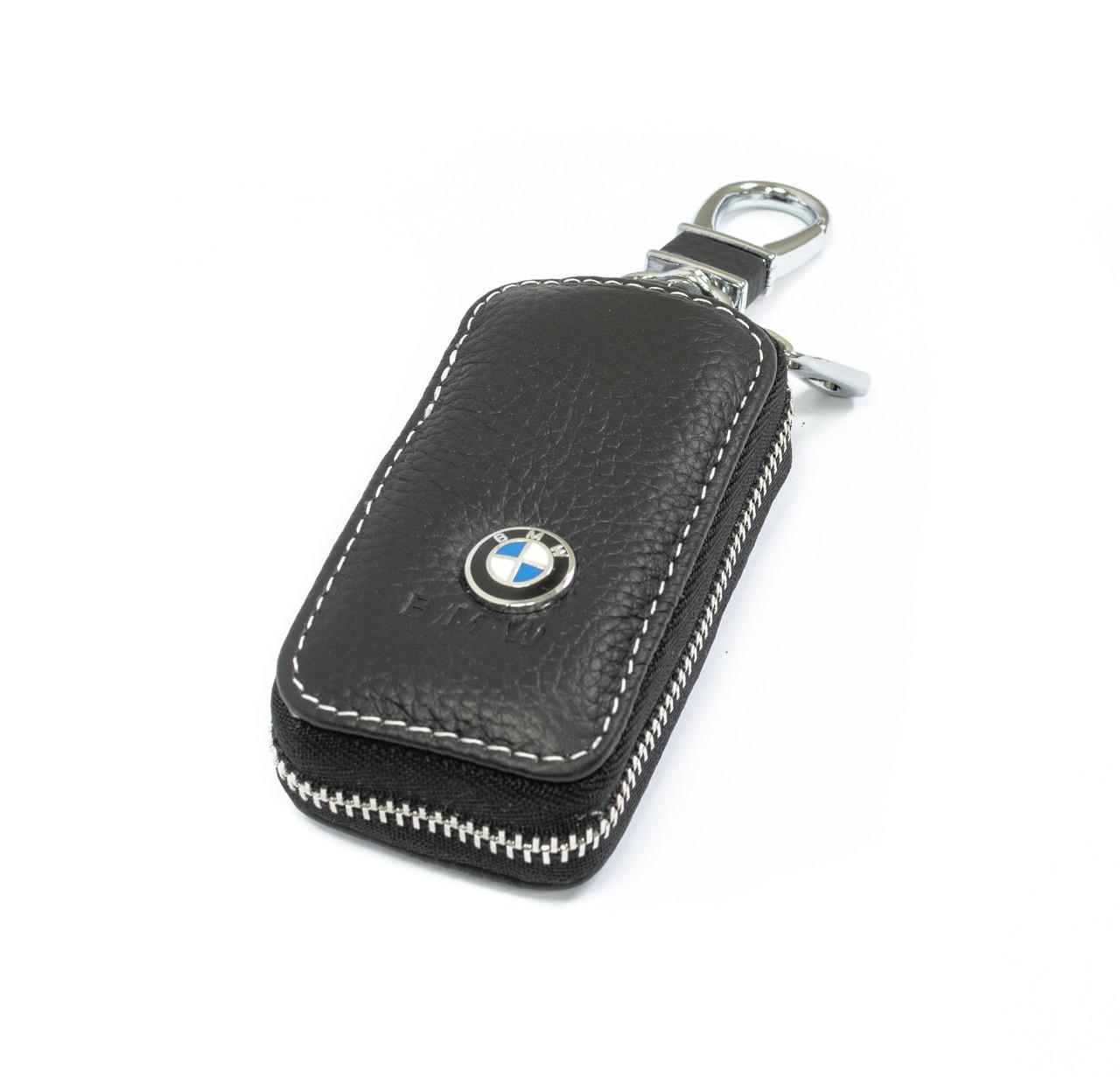 Ключница Carss с логотипом BMW 12010 черная