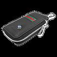 Ключница Carss с логотипом BMW 12012 многофункциональная черная, фото 3