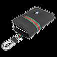 Ключница Carss с логотипом BMW 12012 многофункциональная черная, фото 4