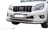 Двойной ус Toyota Prado 150 2009-2013 70*60мм