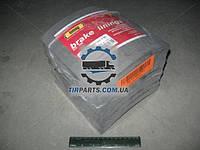 Накладка тормозная (комплект на ось) 419х203 2-й рем. FRUEHAUF, ROR, TRAILOR ( 195572010210)