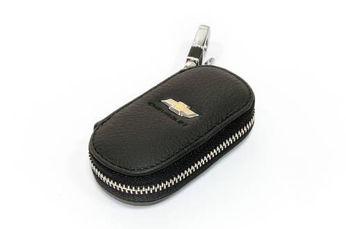 Ключница Carss с логотипом CHEVROLET 14003 черная