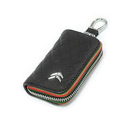 Ключница Carss с логотипом CITROEN 17009 черная
