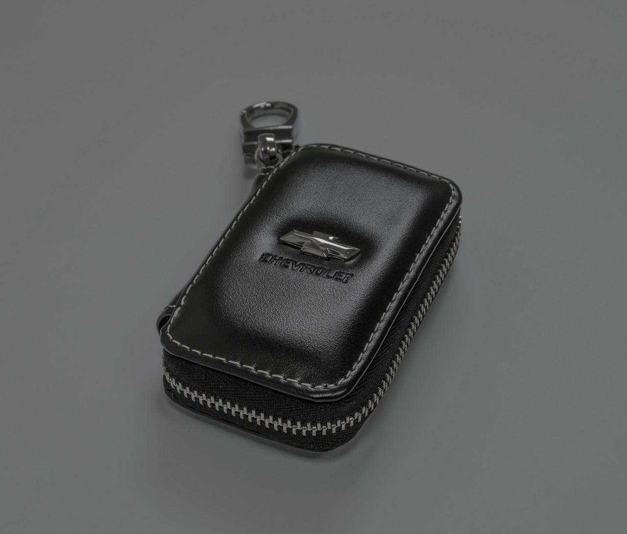 Ключница Carss с логотипом CHEVROLET 14011 черная