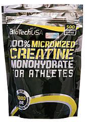 Креатин BioTech 100% Creatine Monohydrate (500 г) биотек биотеч моногидрат