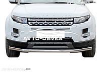 Защита переднего бампера одинарная Land Rover Evoque Prestige (Tamsan 5-7 дней)