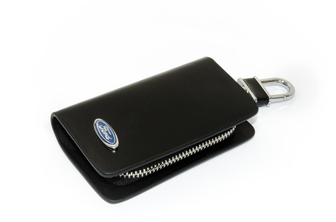 Ключница Carss с логотипом FORD 03002 черная