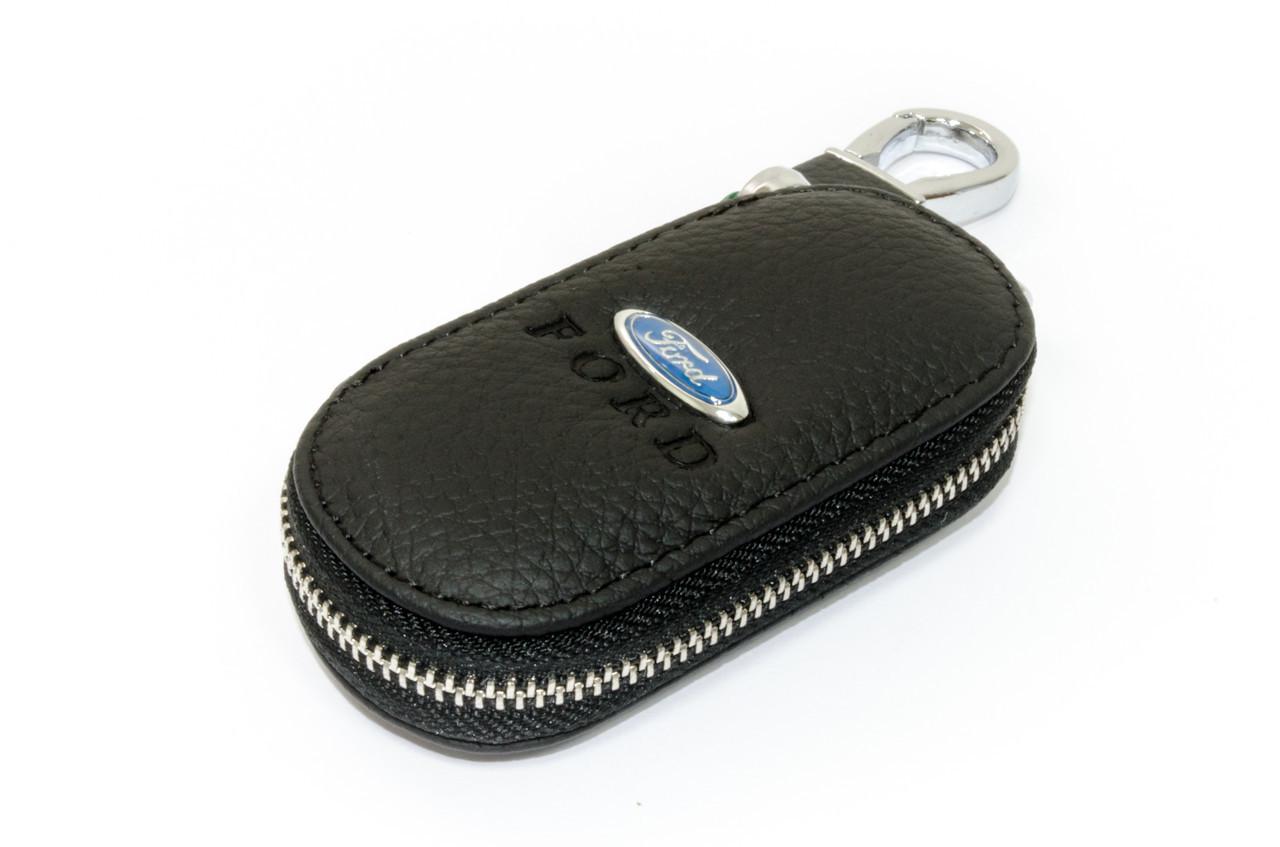 Ключница Carss с логотипом FORD 03003 черная