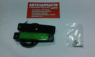 Фонарь габаритный LED 12В зеленый