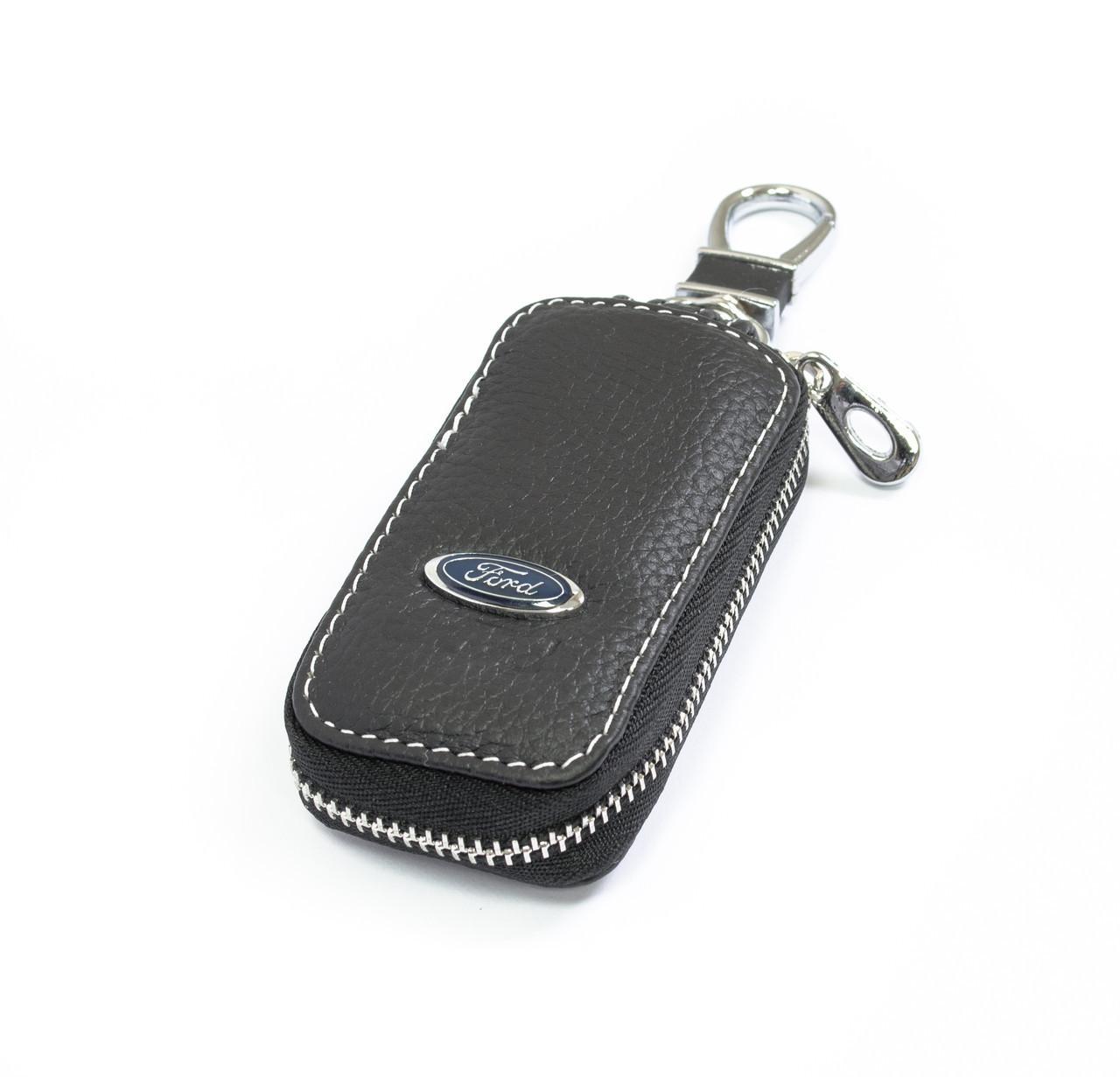 Ключница Carss с логотипом FORD 03010 черная