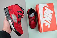 Кроссовки женские Nike Air Jordan 5 / NR-AJW-136 (Реплика)