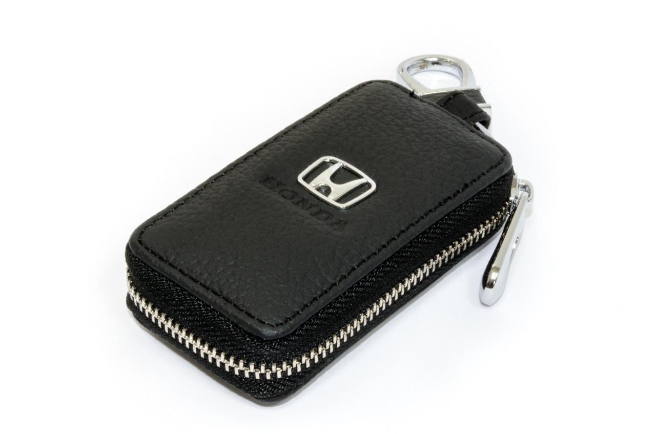 Ключница Carss с логотипом HONDA 08004 черная