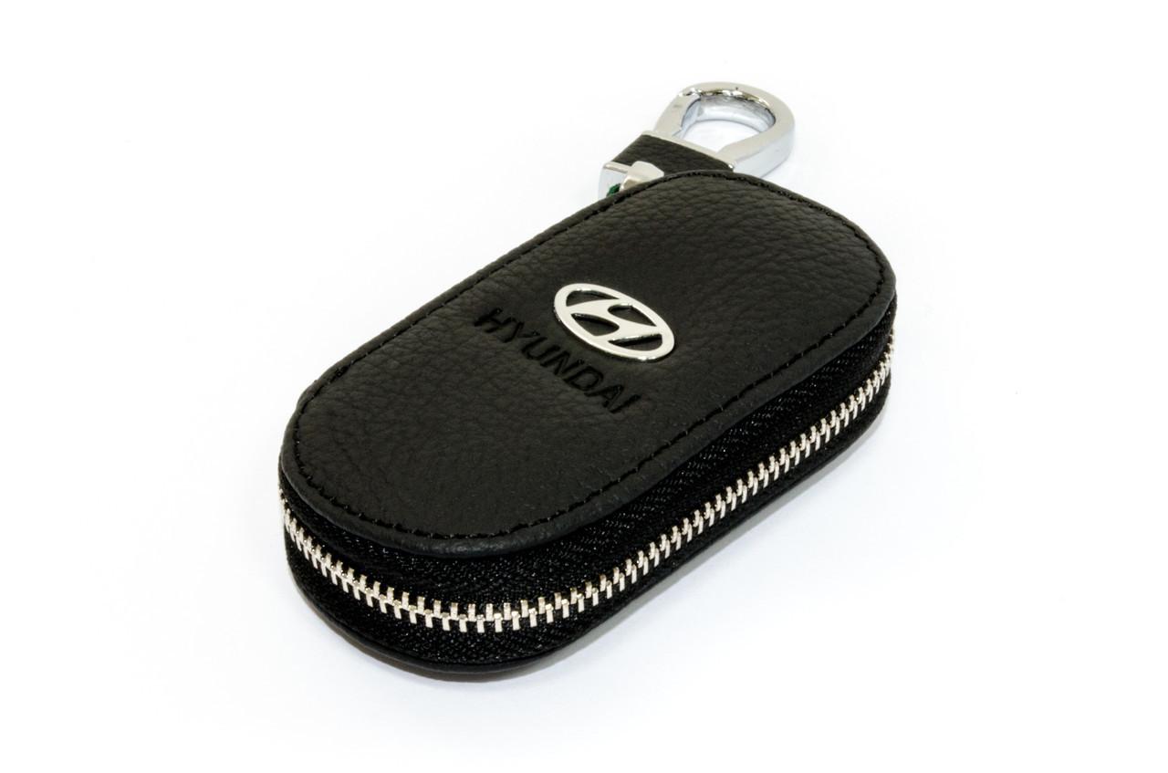 Ключница Carss с логотипом HYUNDAI 10003 черная