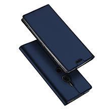 Чехол книжка Dux Ducis Skin Pro для Sony Xperia XZ2 синий