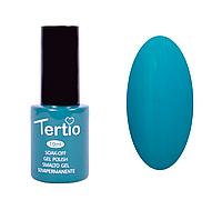 Гель лак Tertio №131, 10 мл сине-зеленый мятный