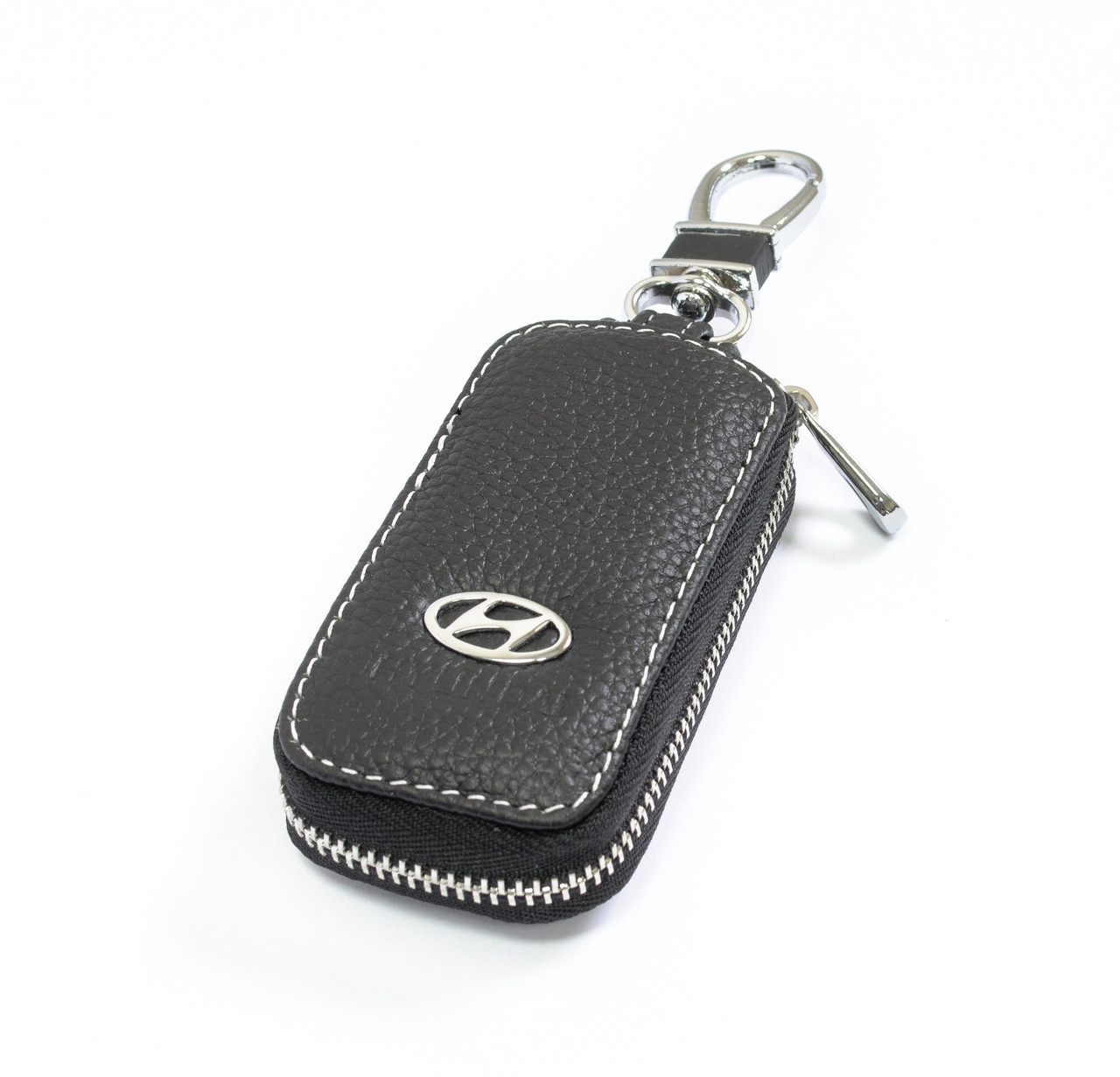 Ключница Carss с логотипом HYUNDAI 10010 черная