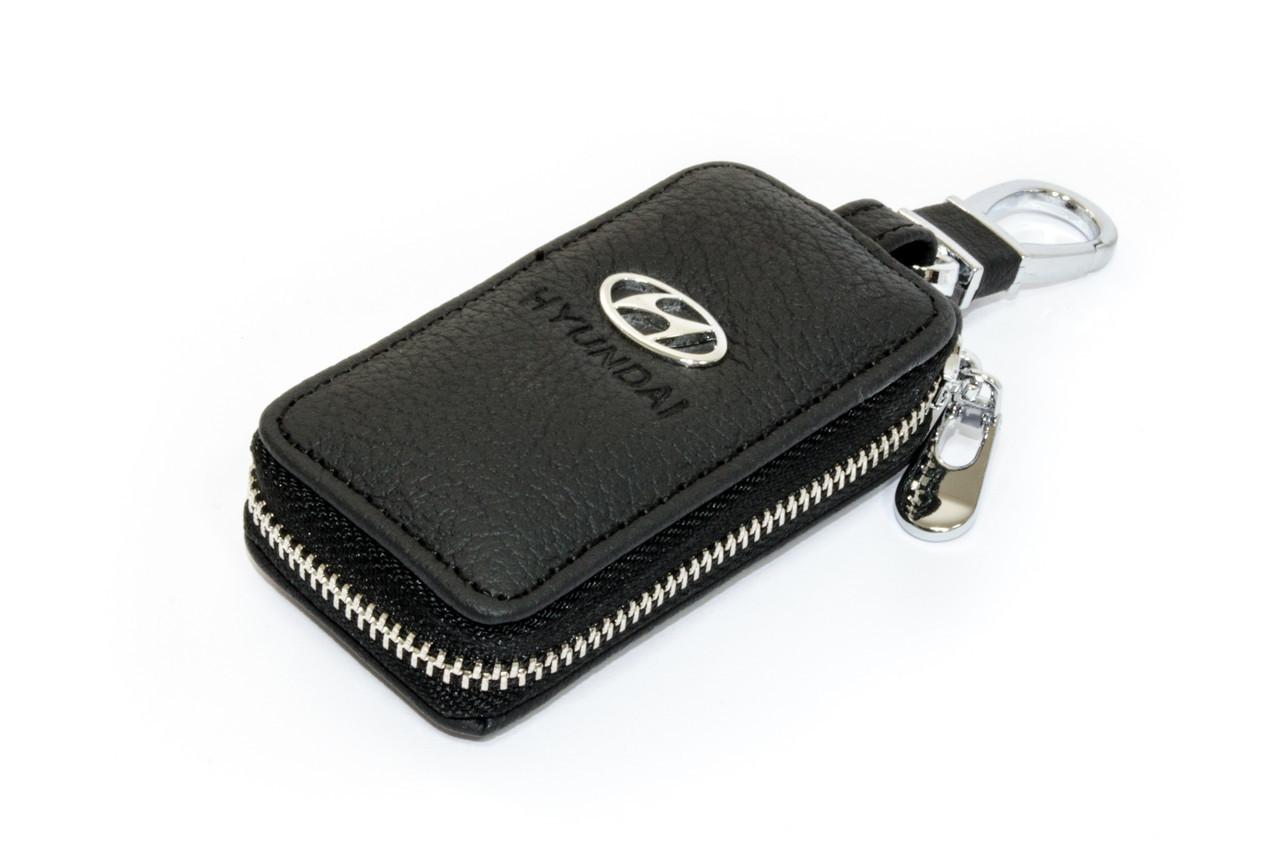 Ключница Carss с логотипом HYUNDAI 10004 черная