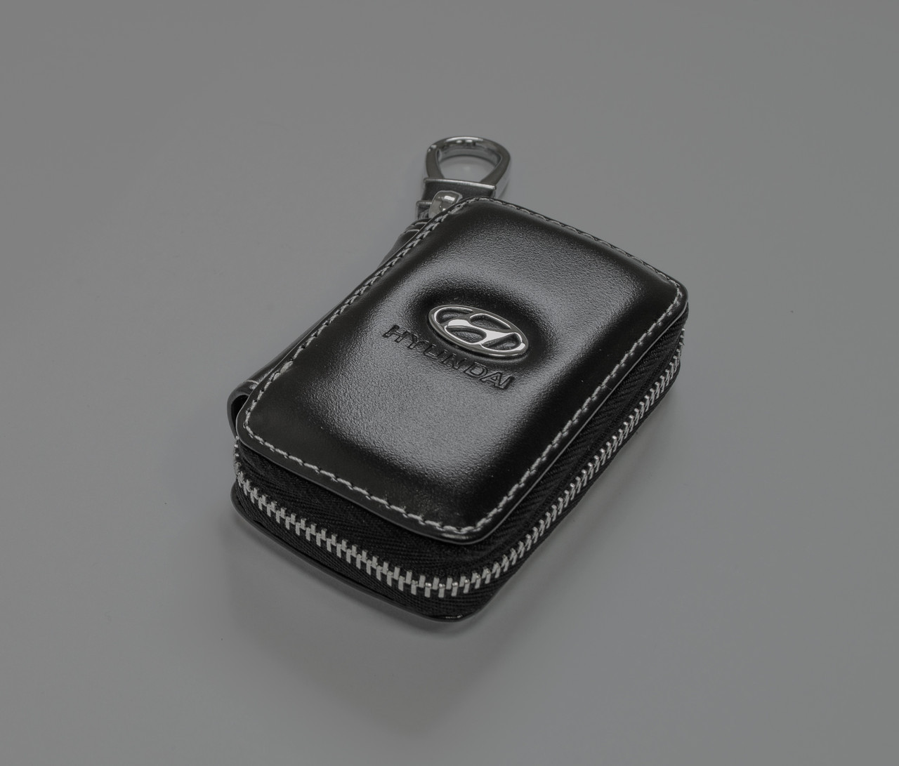 Ключница Carss с логотипом HYUNDAI 10011 черная