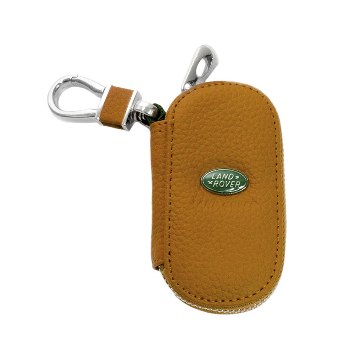 Ключниця Carss з логотипом LAND ROVER 15001 коричнева