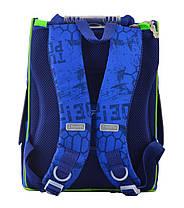 Рюкзак каркасный  1 Вересня 555120 H-11 Turtles, 31*26*14, фото 2