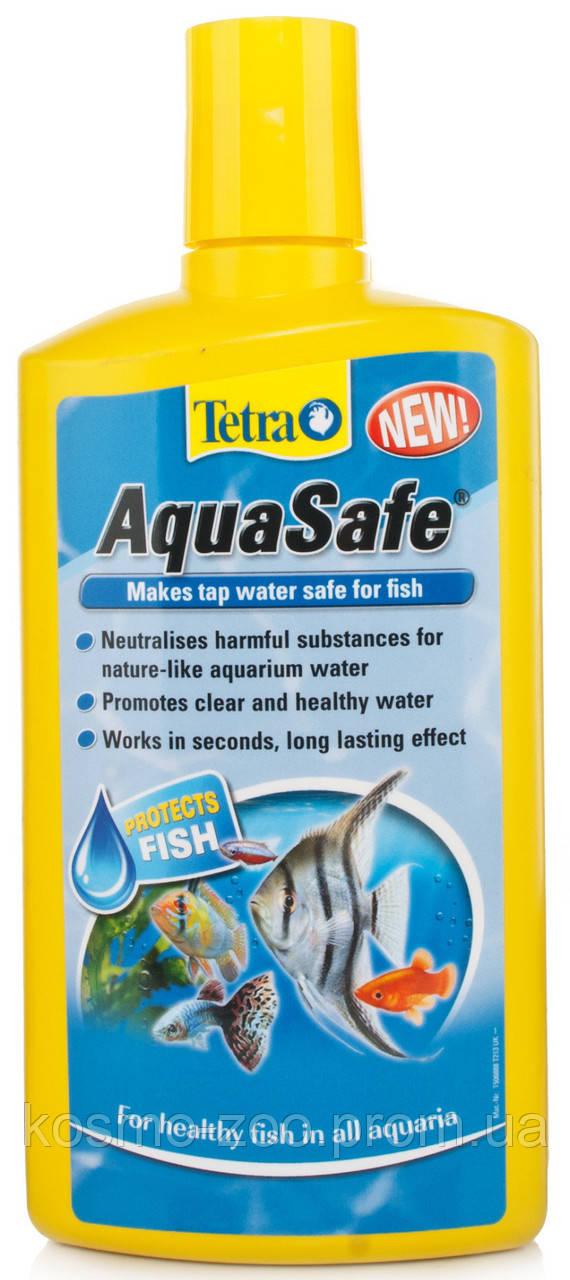 Лекарство Тетра Аква Сейф (Tetra Aqua Safe) для подготовки воды для аквариума, 100 мл